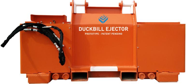 Duckbill Ejector - Custom Mining Products Pty Ltd