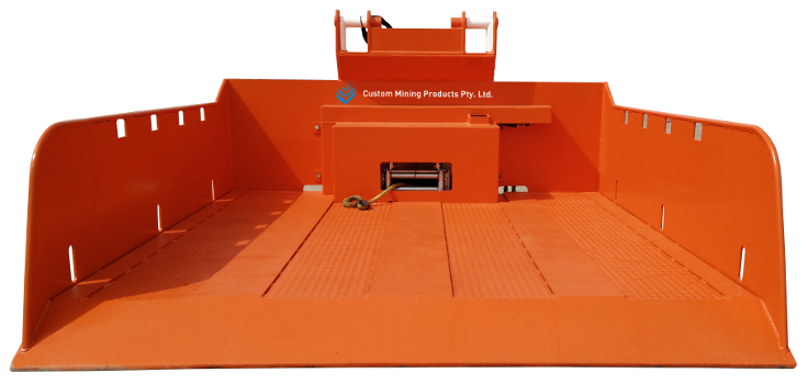 QDS Recovery Pod - Custom Mining Products Pty Ltd - for underground coal mining