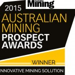 2015 WINNER: Innovative Mining Solution. Recognition for a mine, company, or project that has developed a unique mining solution that has increased efficiency, productivity, or safety.